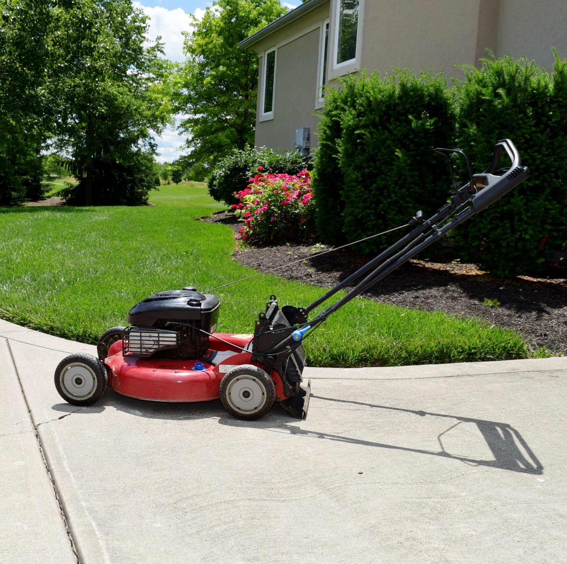 Craftsman 6 75 Hp Ready Start 22 Inch Cut Gas Lawn Mower