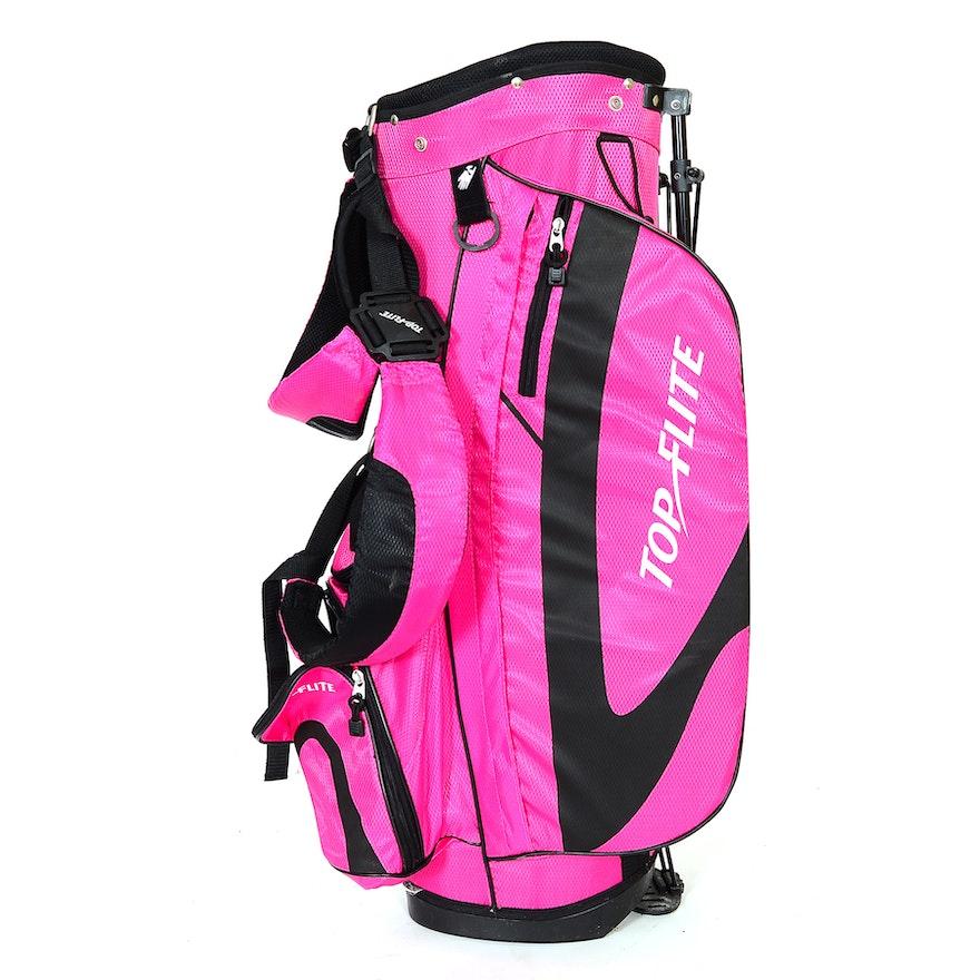 Hot Pink Top Flite Golf Bag