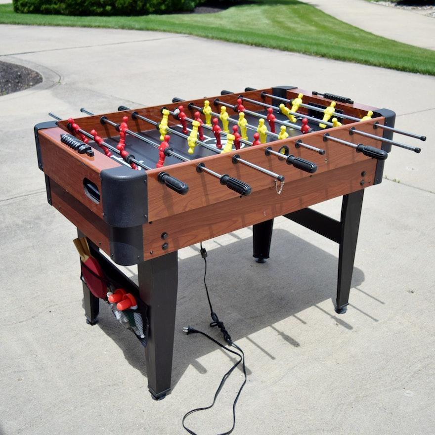 Sportcraft Multi-Game Table Including Foosball, Air Hockey
