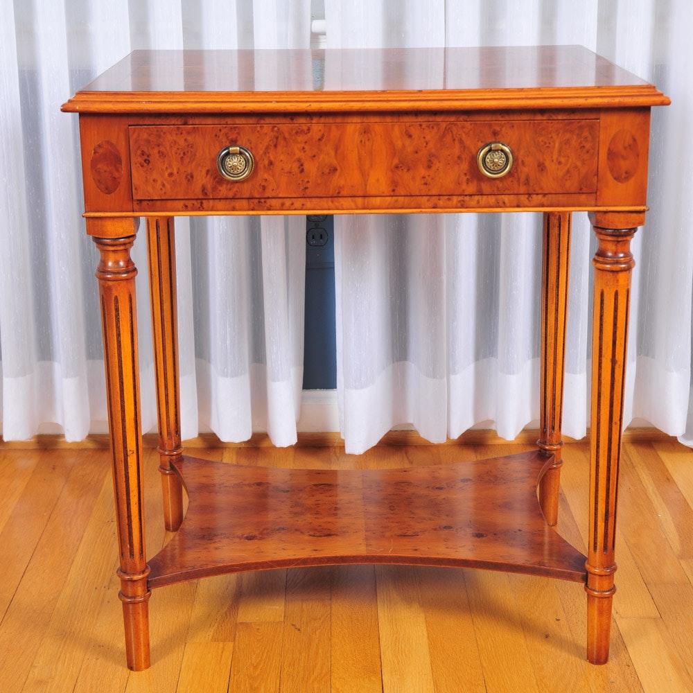 Vintage Yorkshire House Birdu0027s Eye Maple Side Table ...