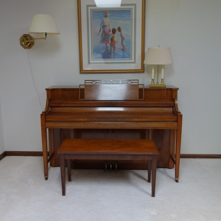 """Kimball """"Consolette"""" Upright Piano"""