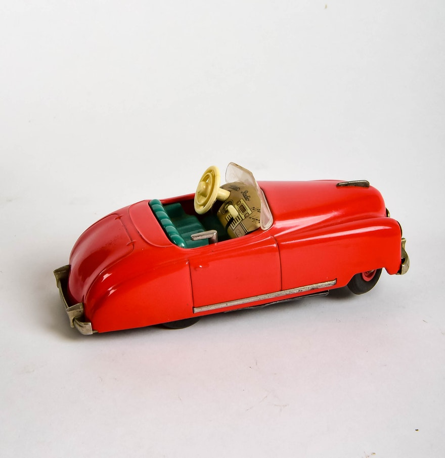 Vintage Schuco Radio 4012 Musical Wind Up Car Ebth
