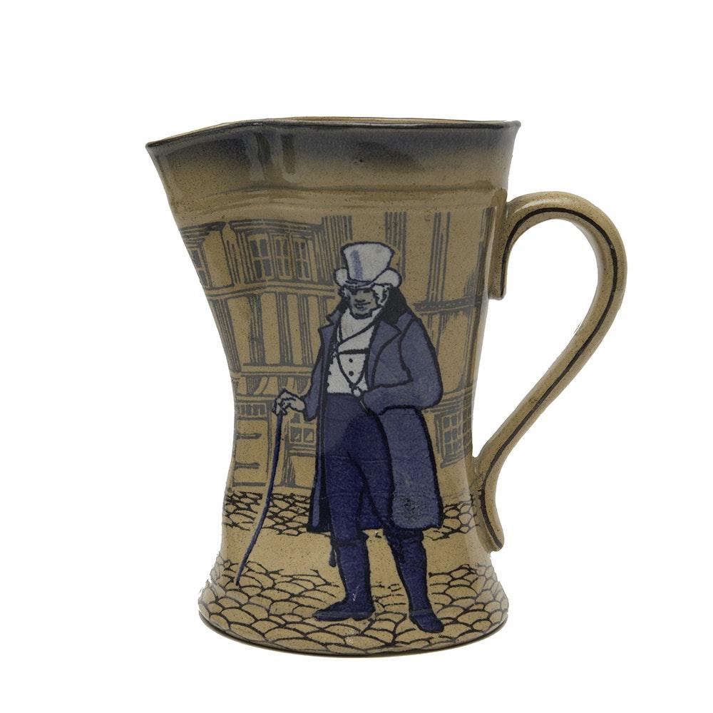 """Royal Doulton  """"Dickens Ware""""  Tudor Jug"""