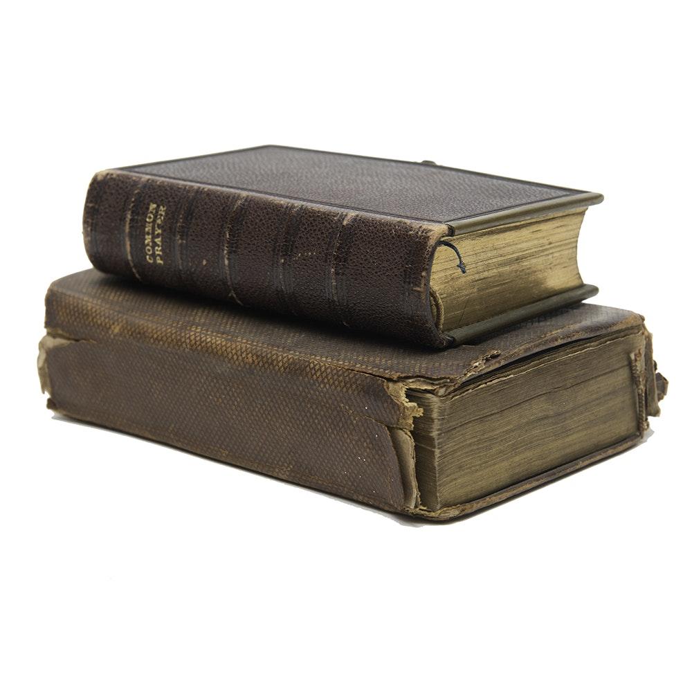19th Century English Prayer Books