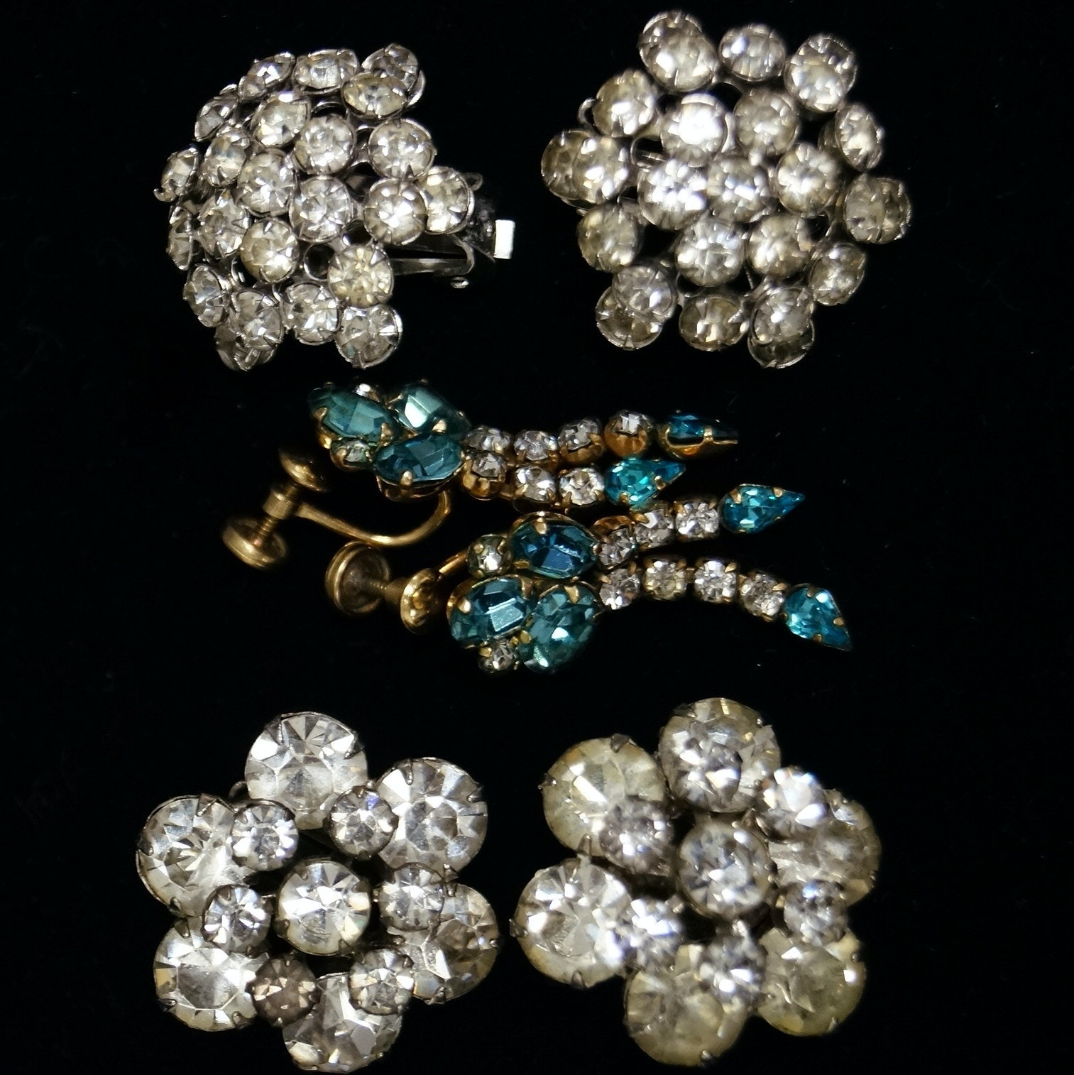 A Collection of Vintage Earrings