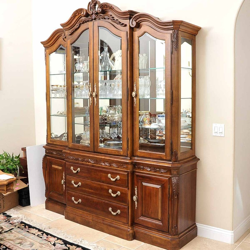 American Drew Furniture Made In China: American Drew Bob Mackie Breakfront China Cabinet