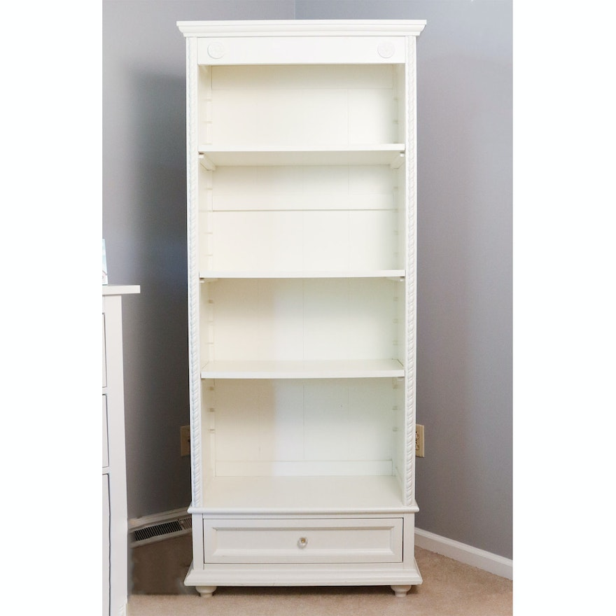 Simply Shabby Chic Bookcase With Drawer
