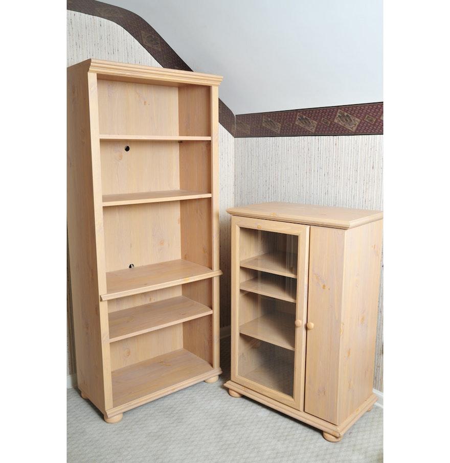 Pair Of Sauder Furniture Bookcases Ebth