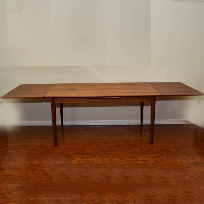 Teak dining table excellent the best teak indoor dining for Dscan dining room set