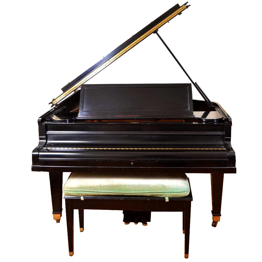 Baldwin Grand Piano with Bench