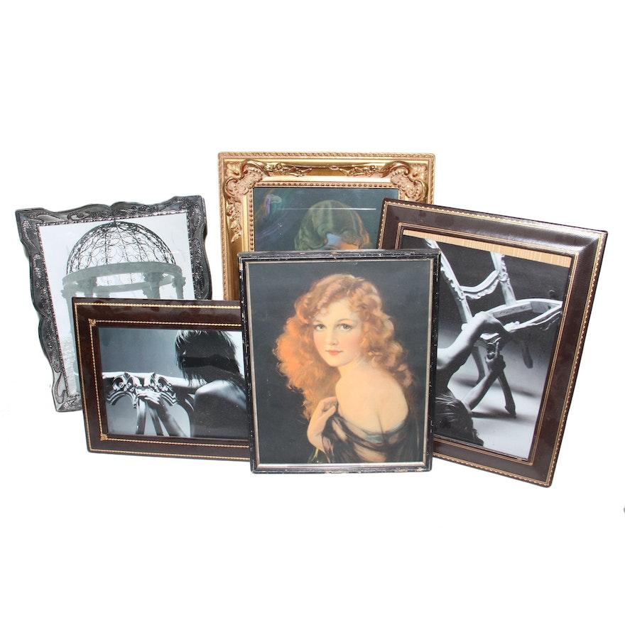 af08dad67070 Group of Assorted Frames   EBTH