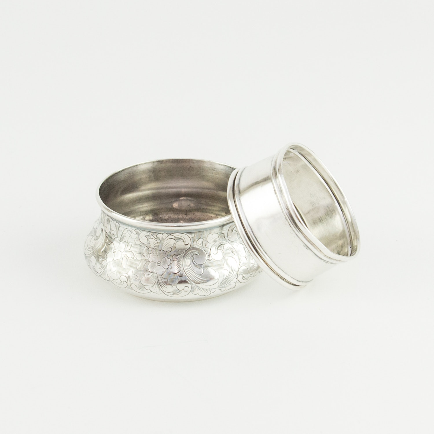 Sterling Silver Bowl and Napkin Ring