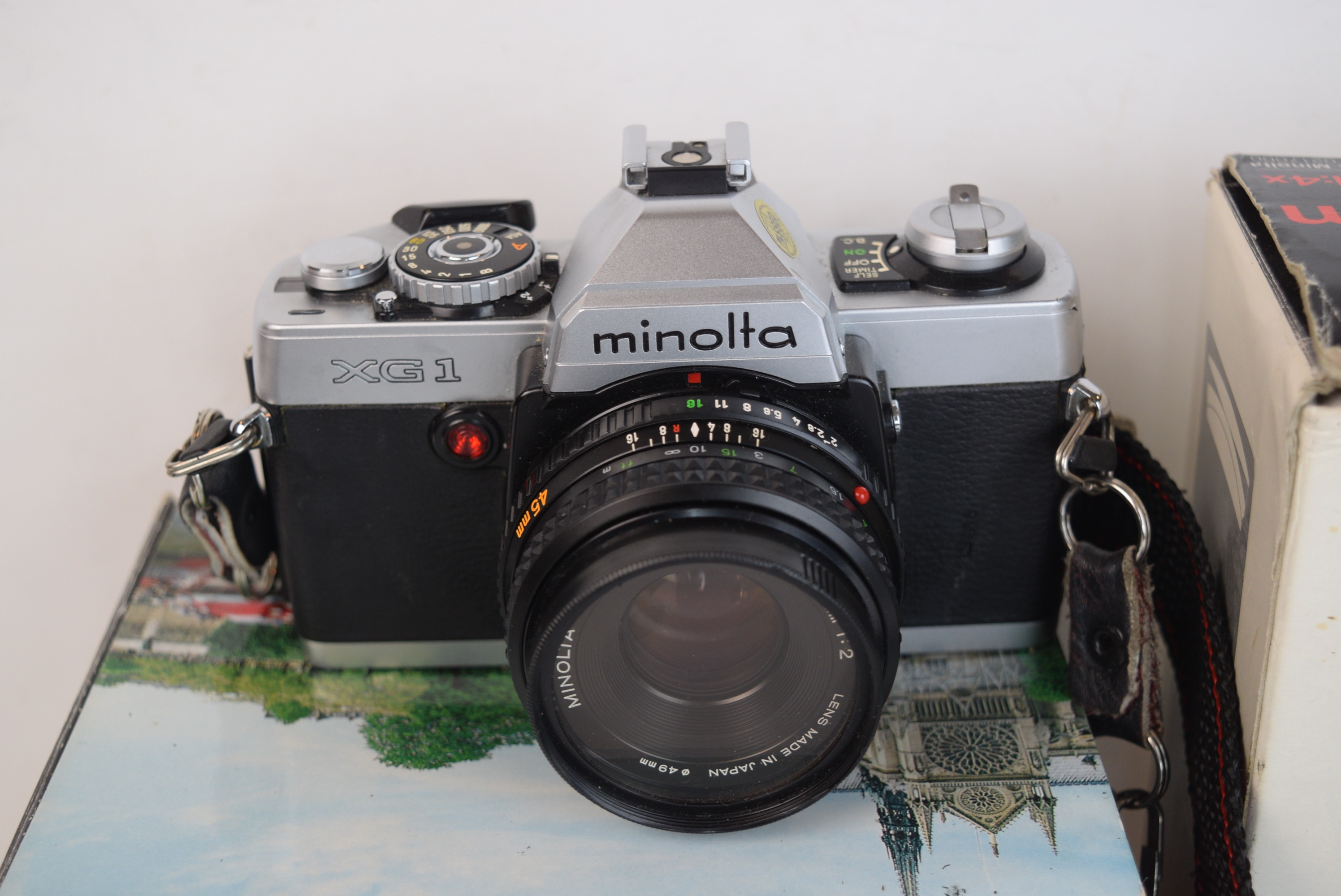 Minolta Xg 1 And Accessories