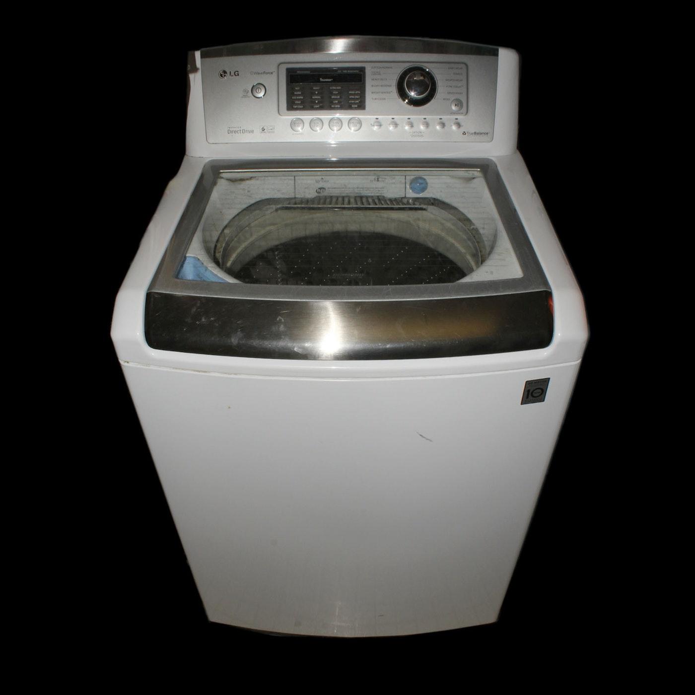 LG True Balance Top Loading Washing Machine : EBTH