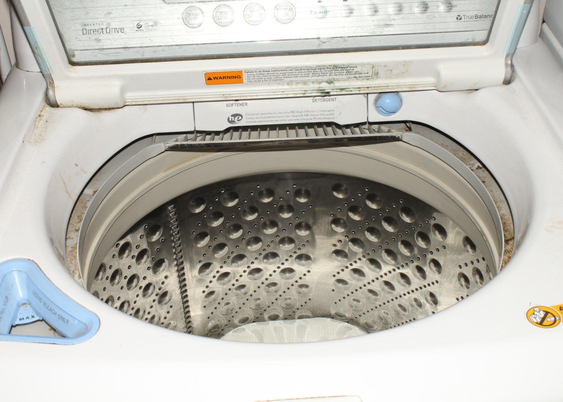 lg washing machine true balance