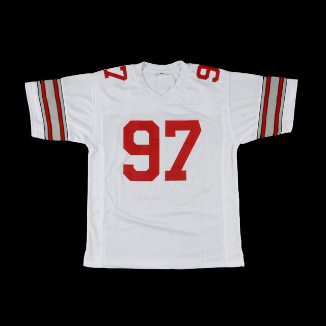 ... cheap joey bosa signed ohio state jersey coa e2827 3886d 71e5e0d47