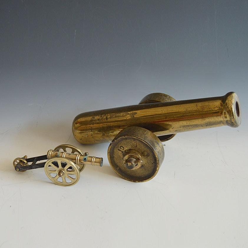 Brass Cannon Models