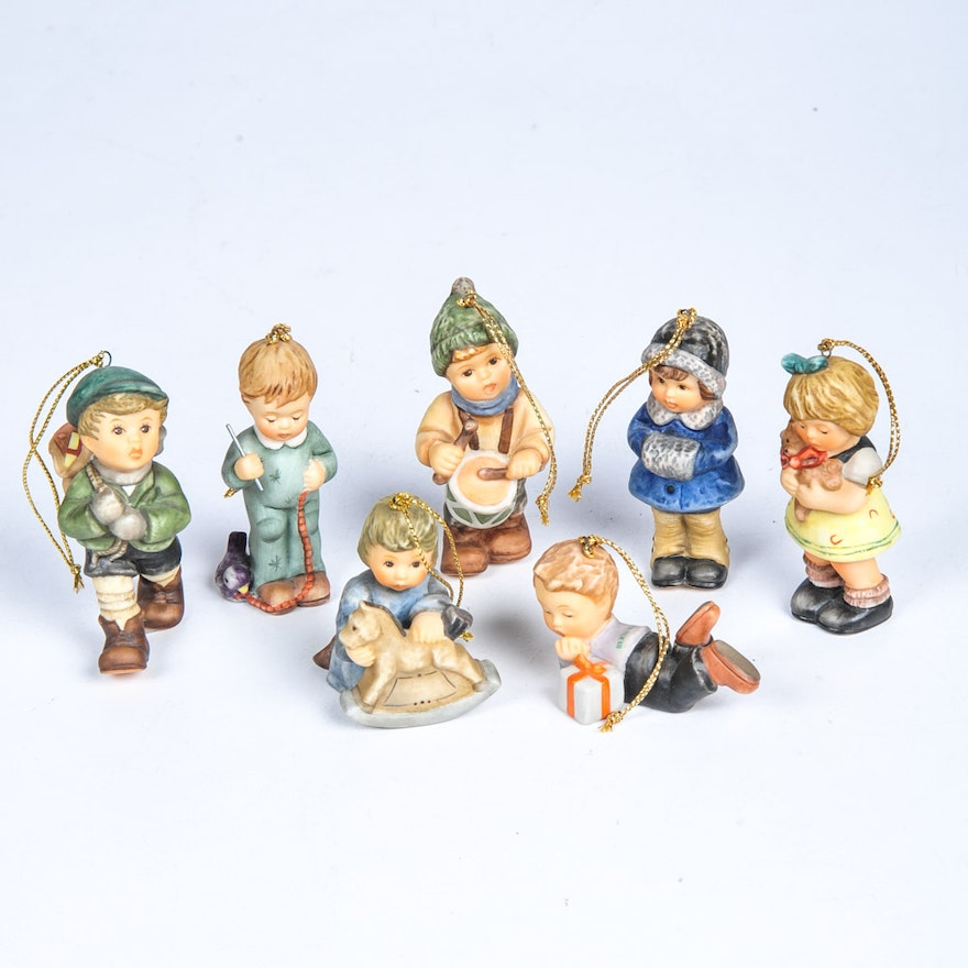 Collection of Berta Hummel Christmas Ornaments by Goebel ... - Collection Of Berta Hummel Christmas Ornaments By Goebel : EBTH