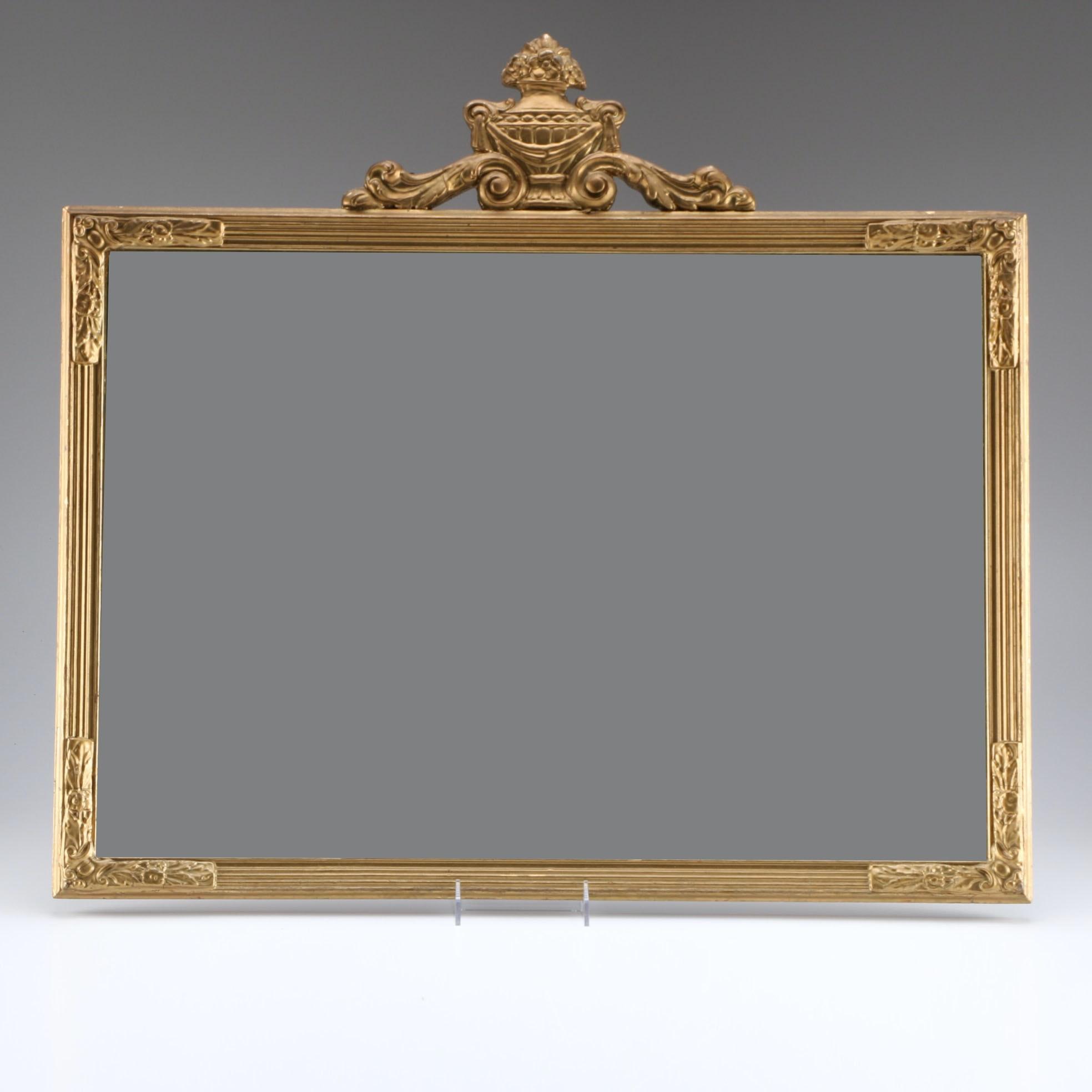 Regency Styled Framed Wall Mirror
