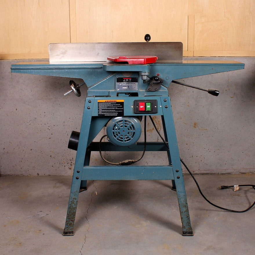 Jet 6 Woodworking Jointer