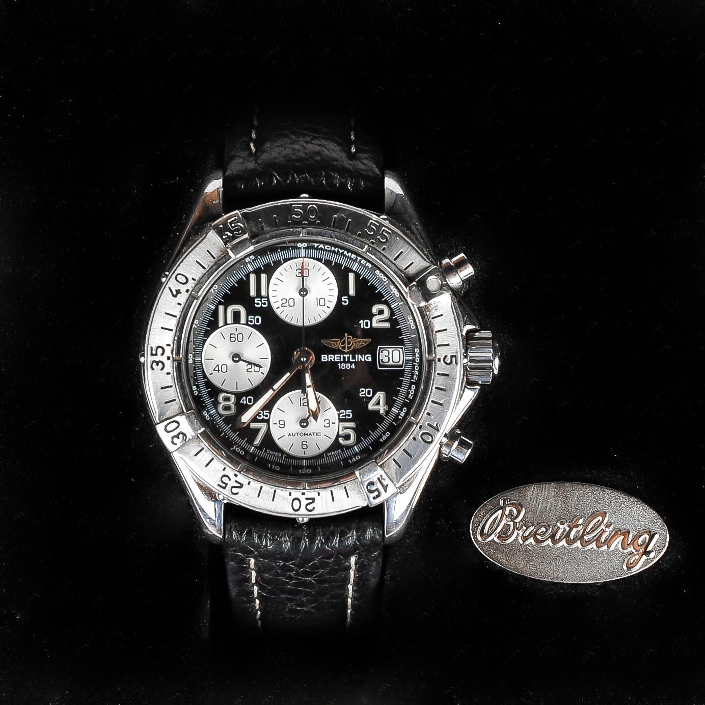 Men's Breitling Colt Chronograph Wrist Watch