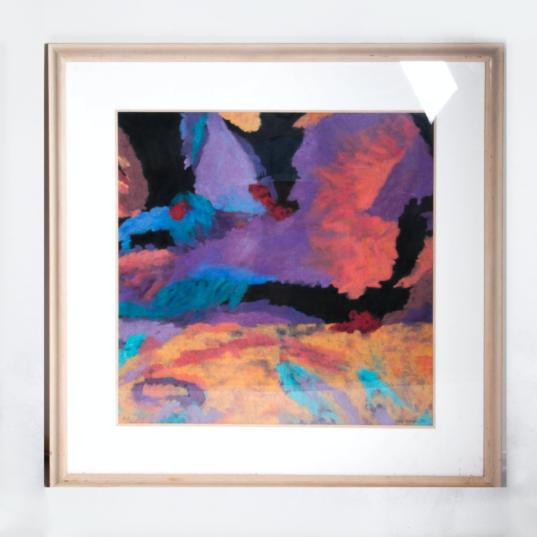 Renee Vinson Artist Proof Abstract Pastel