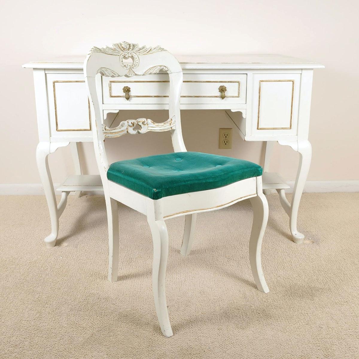 Vintage Flexsteel Charisma Wingback Chair EBTH
