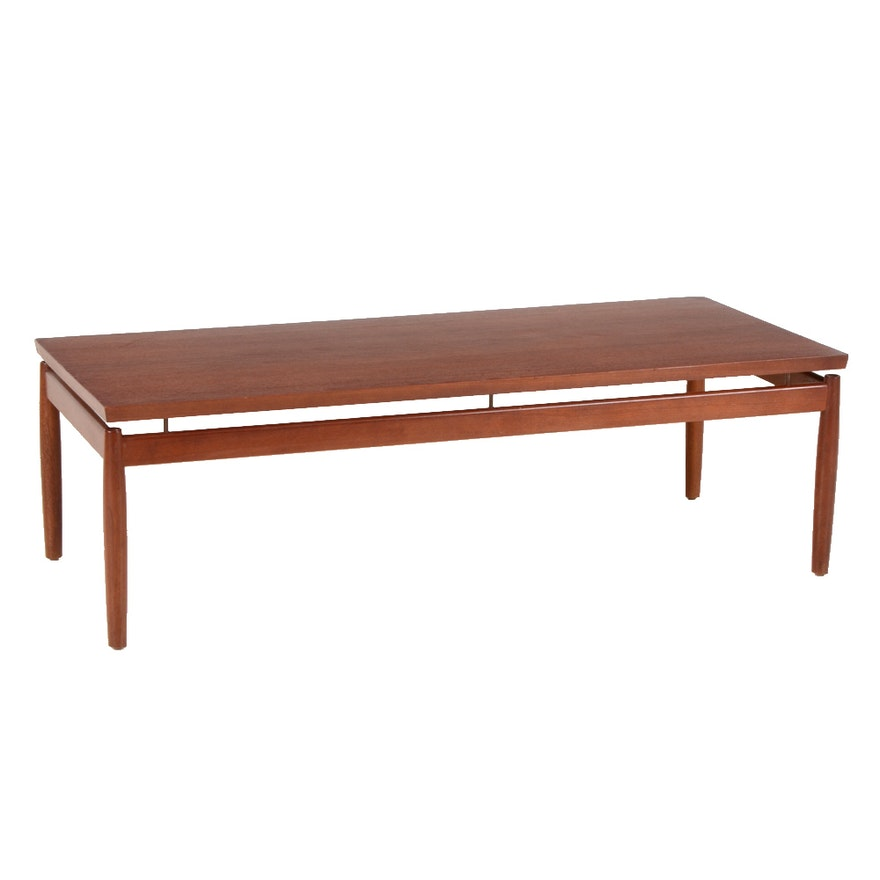 Danish Modern France & Son Teak Coffee Table Attributed to ...