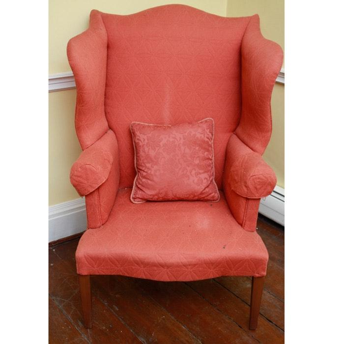 Fine George III Style Wingback Chair