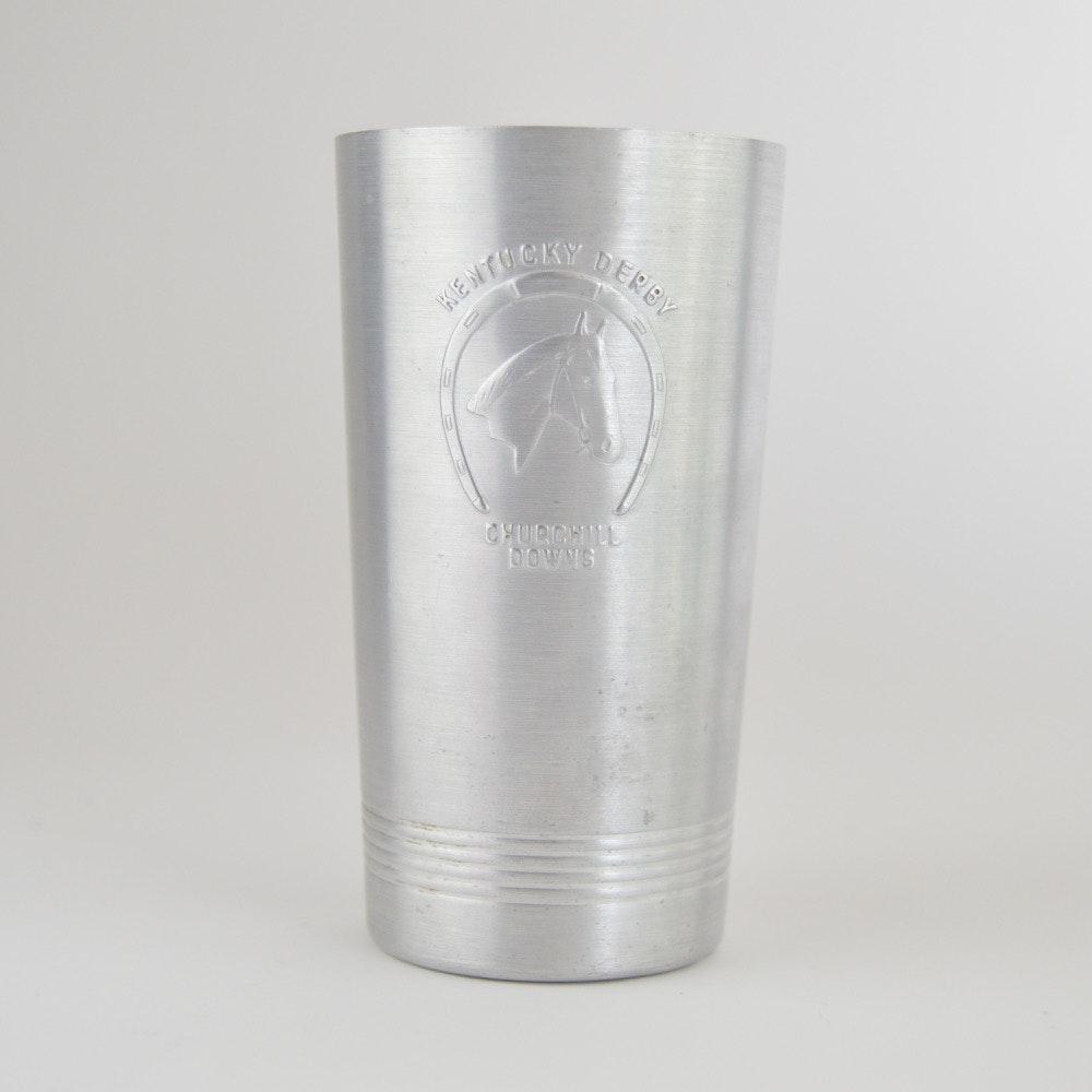 1940-1941 Aluminum Kentucky Derby Glass