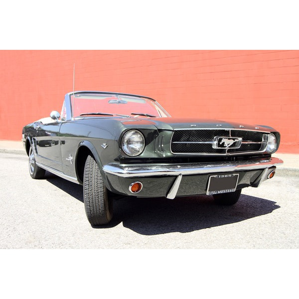 1965 Ford Mustang Ivy Green Convertible with Low Mileage