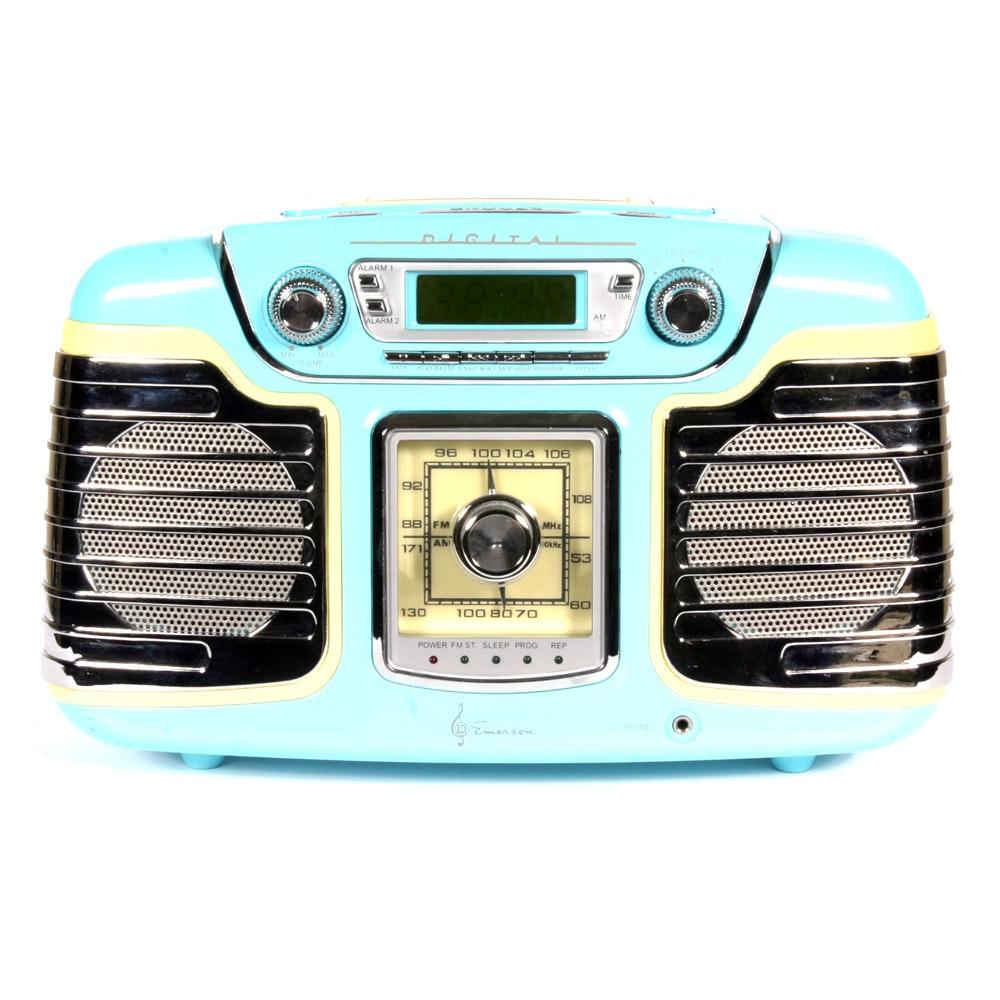 Retro Emerson Digital Radio