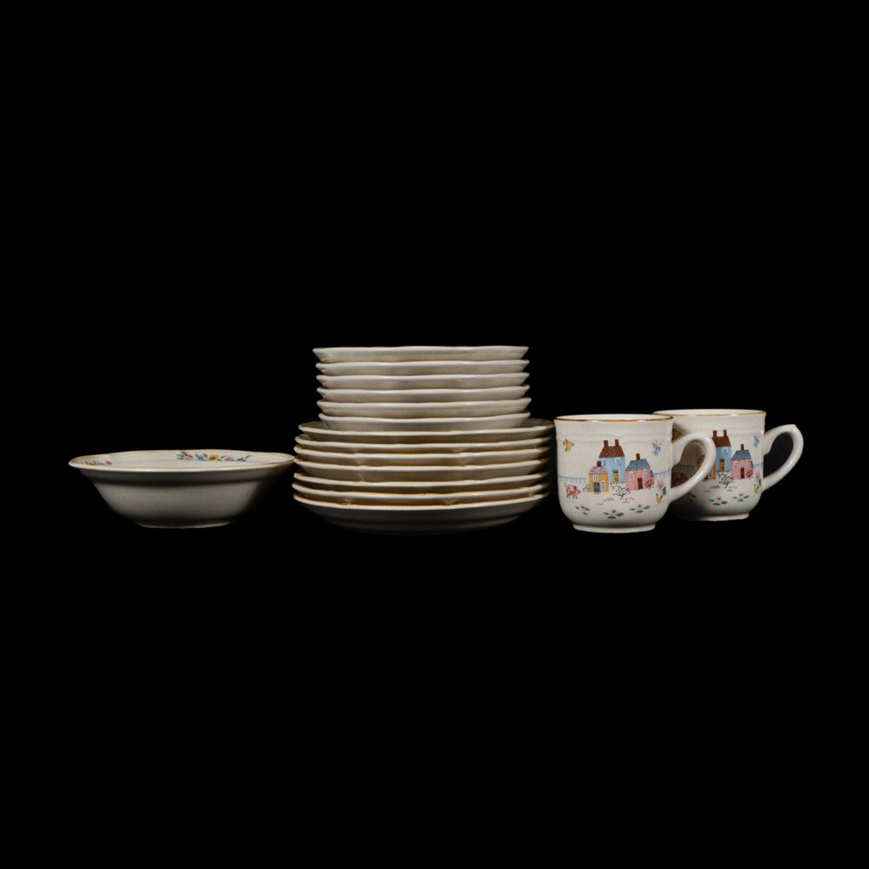 "Assortment of International Tableworks ""Heartland"" Stoneware Dishes"