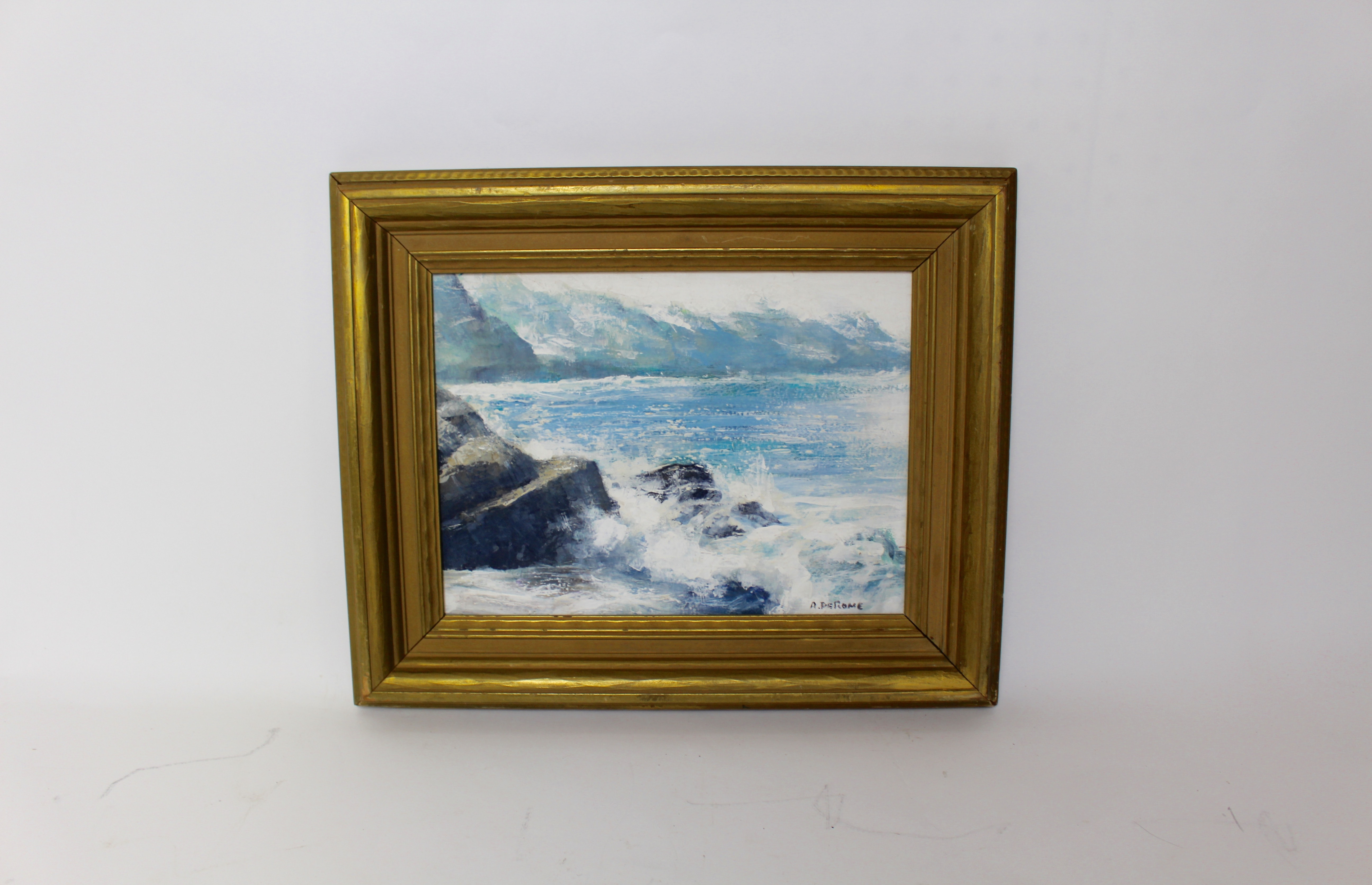 Seascape Oil Painting by Albert DeRome