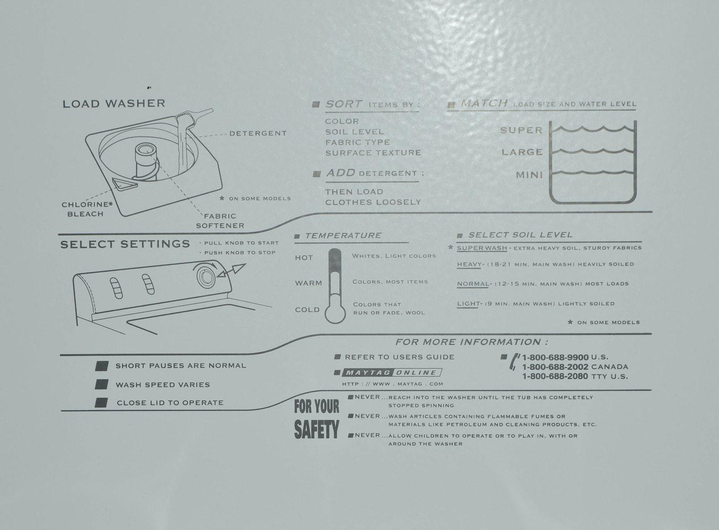 Maytag Ensignia Washing Machine : EBTH