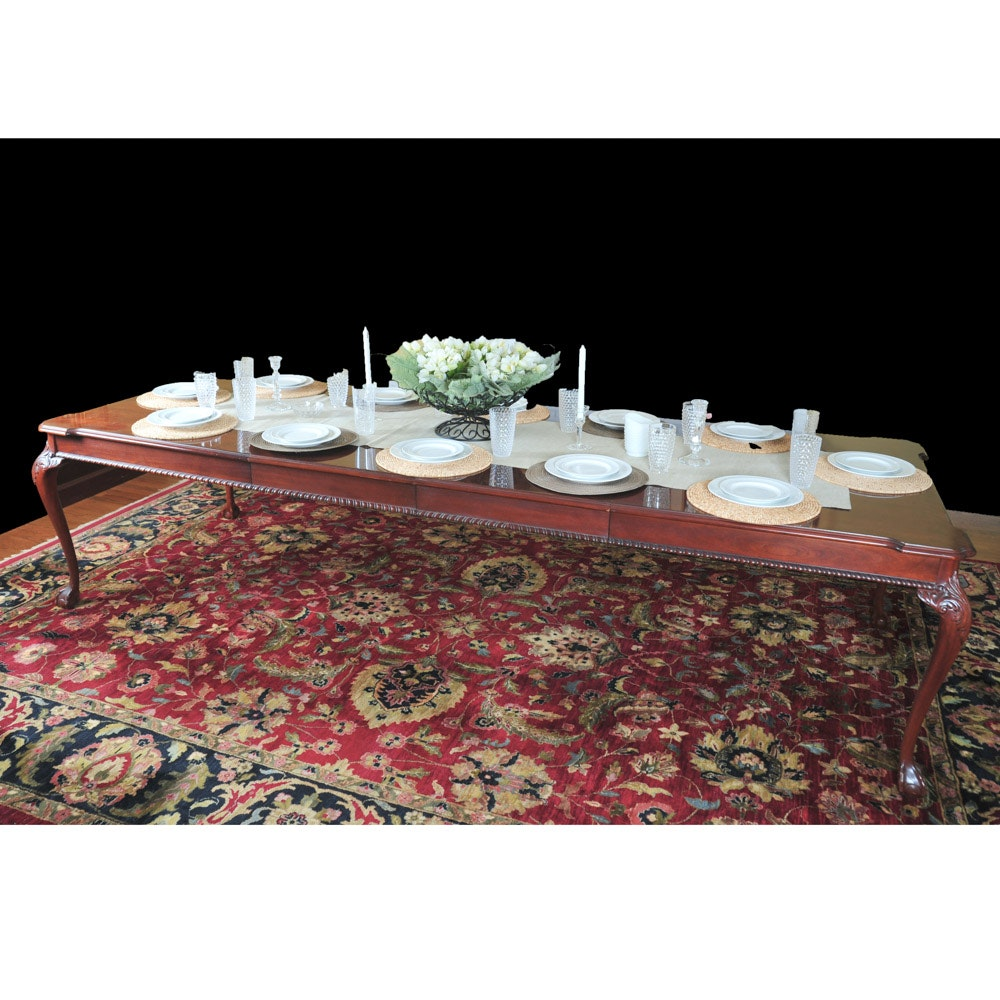 Link-Taylor Solid Mahogany Dining Table by Lexington Furniture