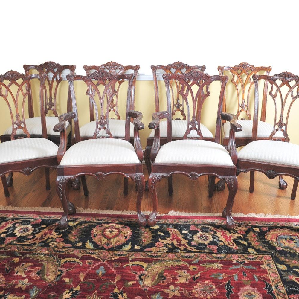 Set of Lexington Furniture Mahogany Dining Chairs