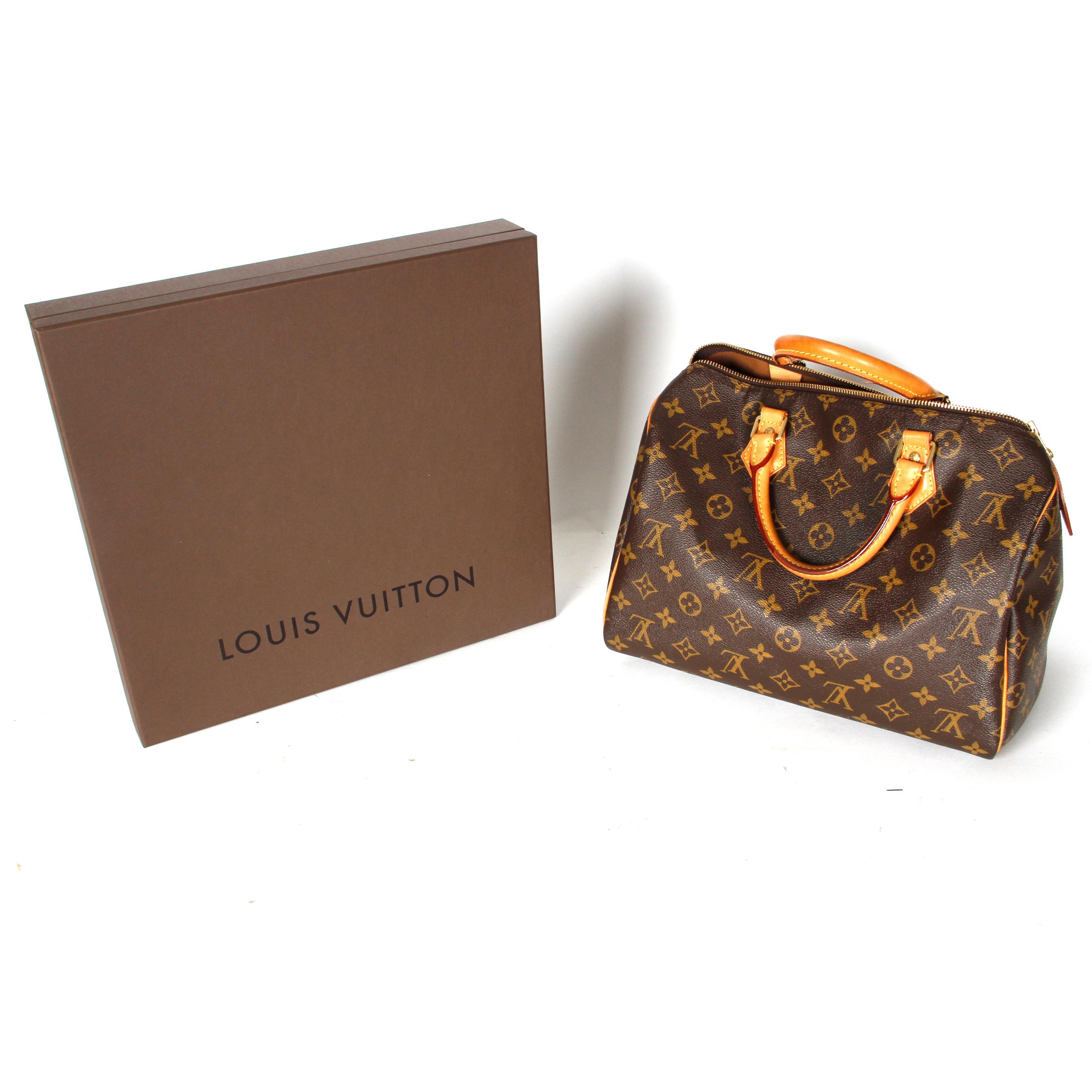 Louis Vuitton Speedy Handbag