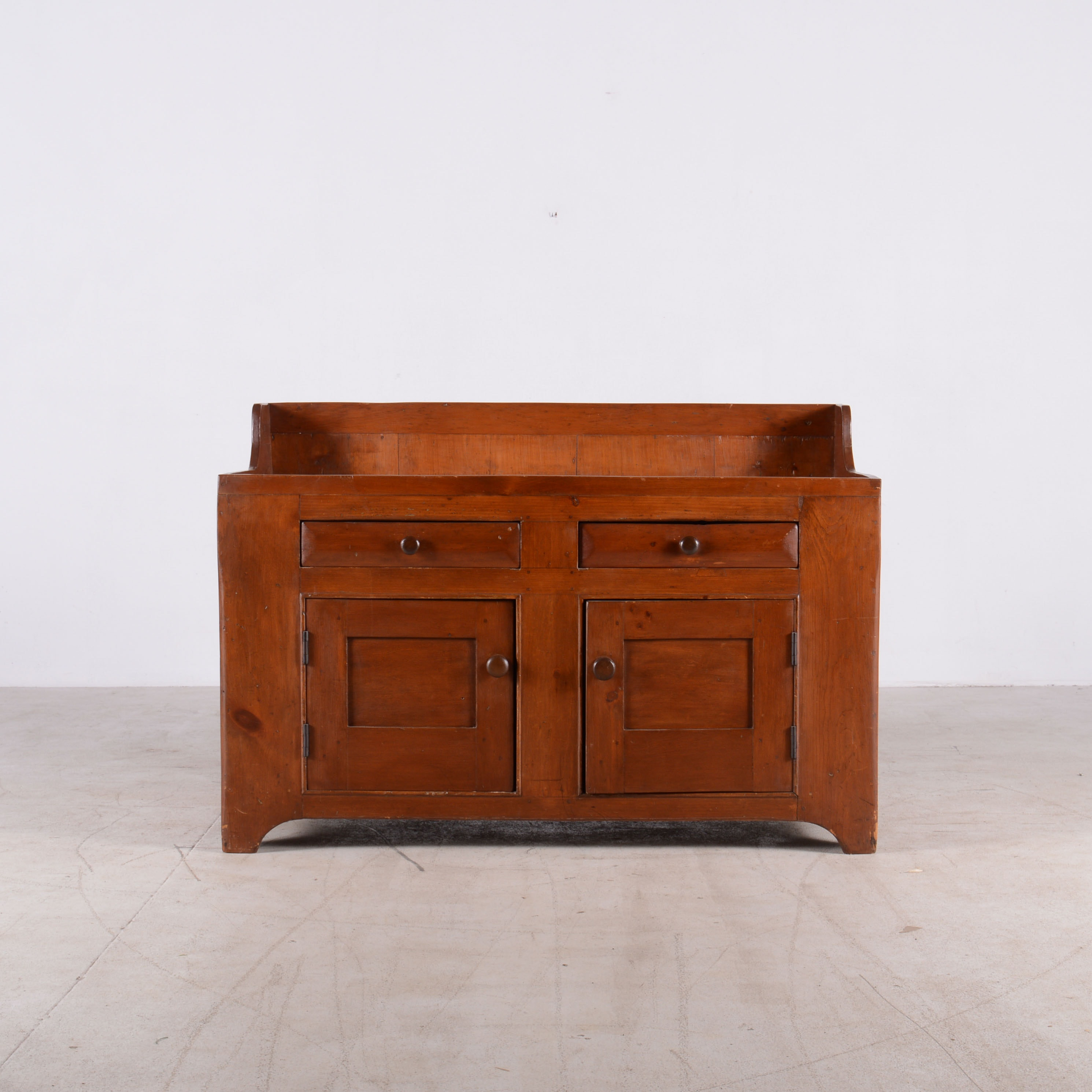 Antique Knotty Pine Dry Sink