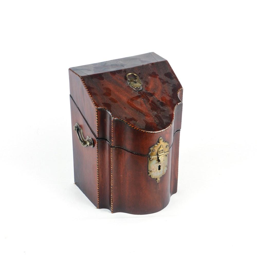 18th Century English Knife Box
