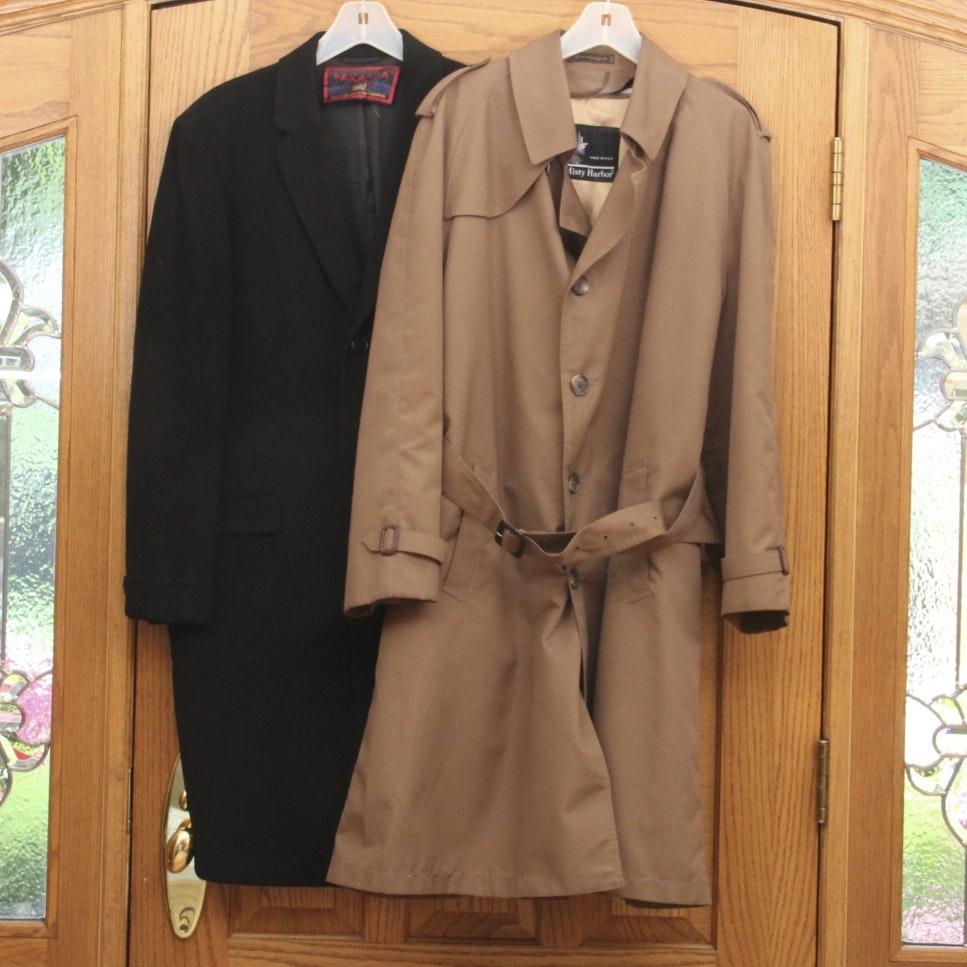 100 cashmere overcoat