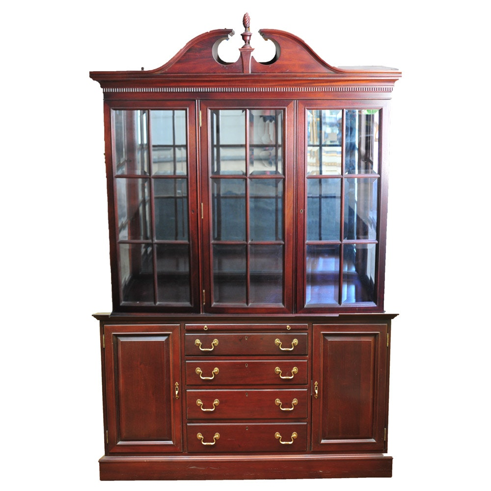 Link Taylor Solid Mahogany China Cabinet By Lexington Furniture ...
