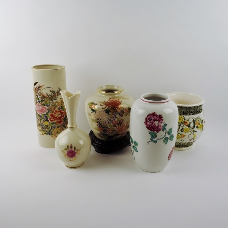 Strasbourg Flowers by Tiffany & Co., Lenox Vases and Others