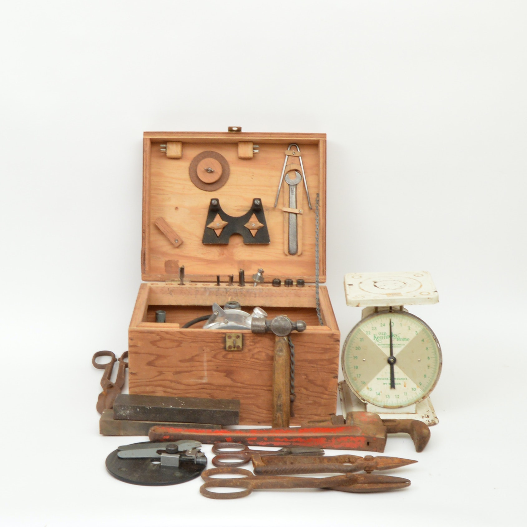Vintage Router and Shop Tools