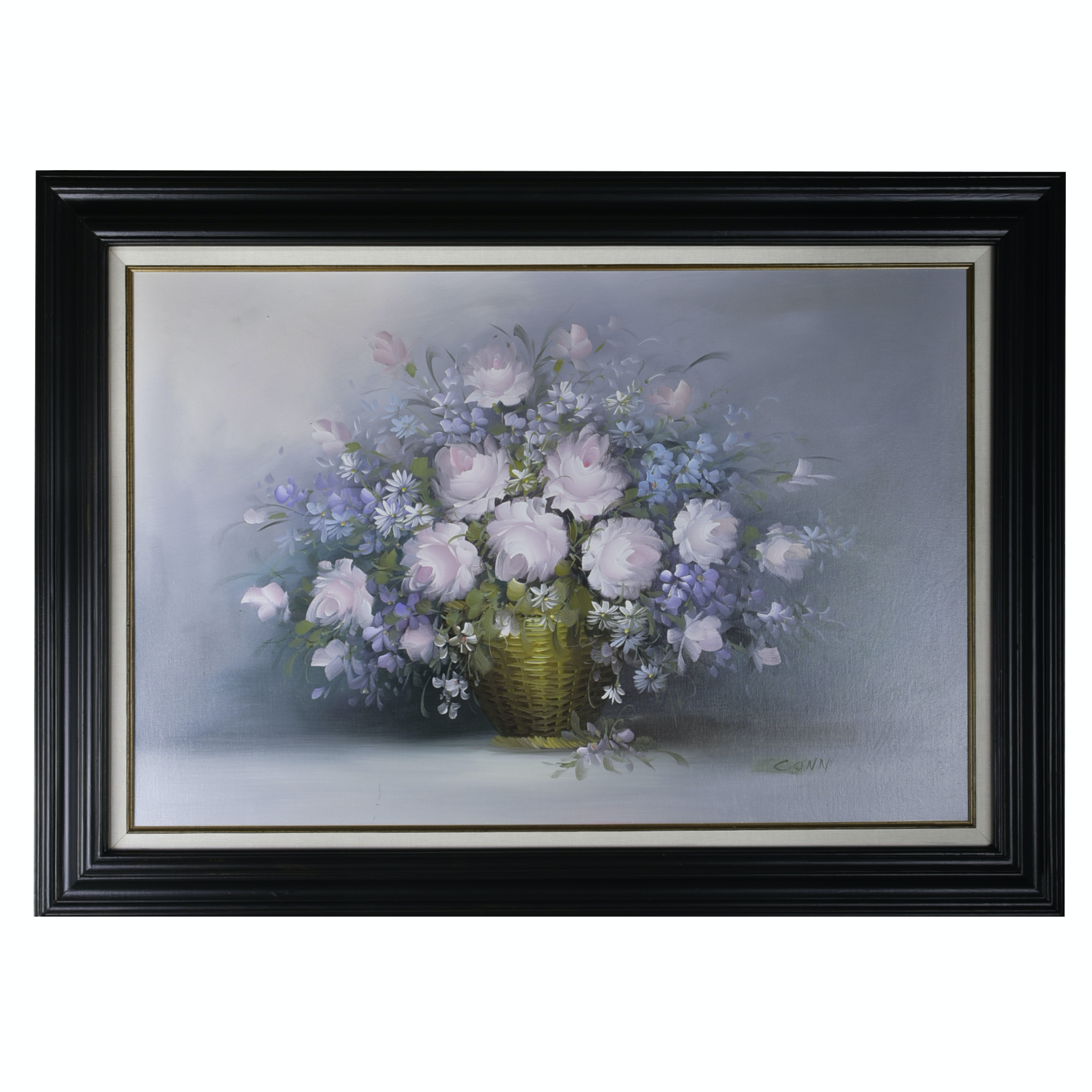 Oil on Canvas Floral Painting