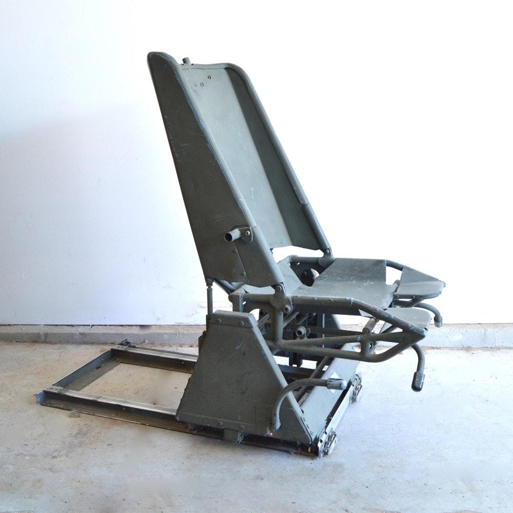 Vintage Burns Aero Seat Co. Pilot Chair
