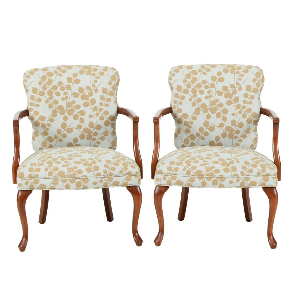 Contemporary Fauteuil Style Armchairs