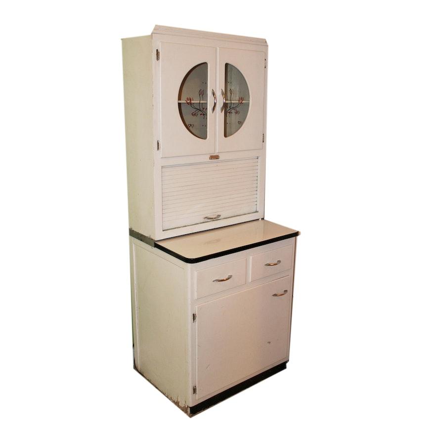 Damaged Kitchen Cabinets For Sale: Vintage Scheirich Kitchen Cabinet : EBTH
