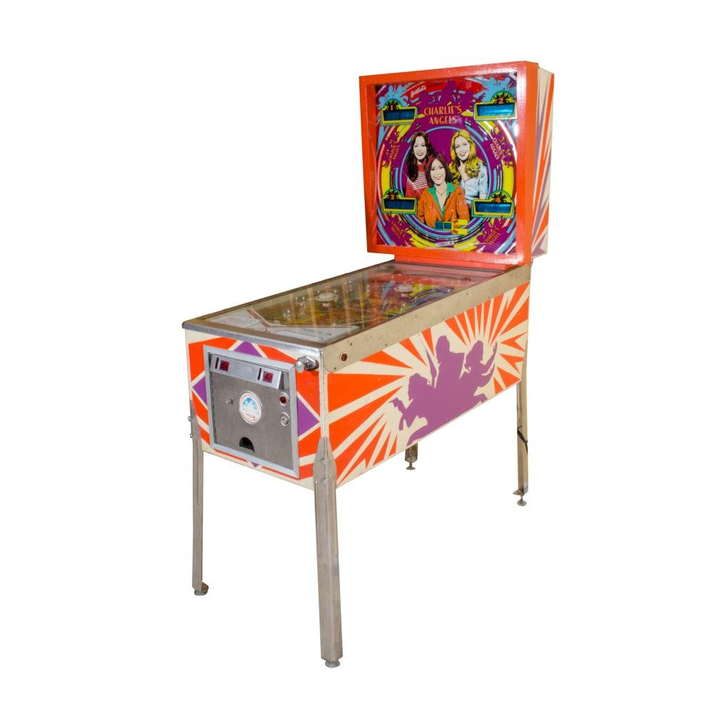1978 Charlie's Angels Pinball Machine