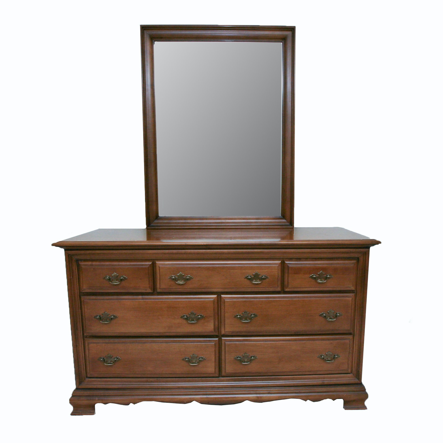 Chest of Drawers with Vanity Mirror